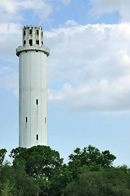 Photograph - Sulfur Springs Water Tower by Carolyn Marshall