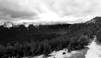 Print featuring the photograph Sulphur Mountain by JM Photography