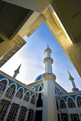 Mosque Photograph - Sultan Ahmad Shah State Mosque by Ng Hock How