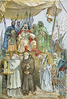 Saladin Photograph - Sultan Saladin (1138-1193) by Granger