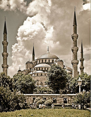 Photograph - Istanbul - Sultanahmet Mosque by Mark Forte