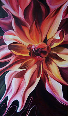 Painting - Sultry Bloom by Karen Hurst