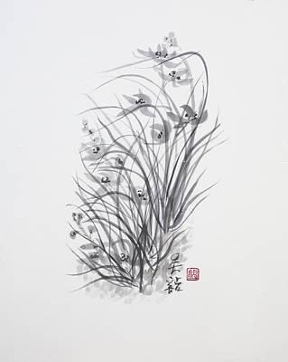 Sumi-e Two Art Print