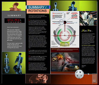 Digital Art - Summary Rotations P14 by Glenn Bautista