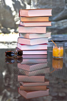 Light Table Photograph - Summer - Reading Time by Joana Kruse