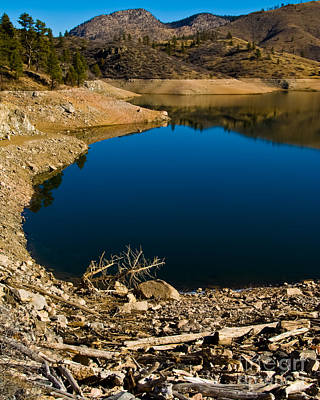 Photograph - Summer At Seaman's Reservoir by Harry Strharsky