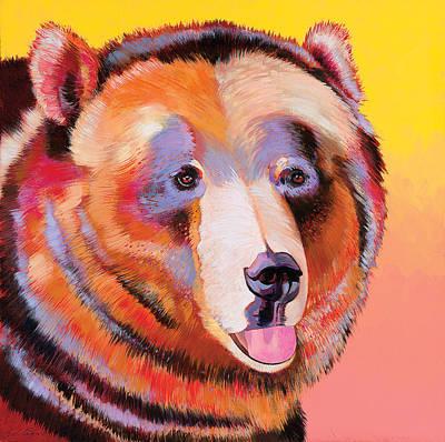 Summer Bear Art Print by Bob Coonts