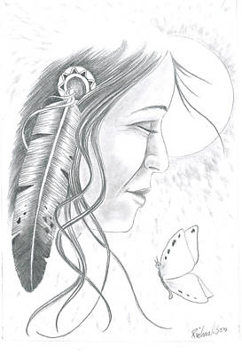 Dreamcatcher Drawing - Summer Breeze by Tod Richardson