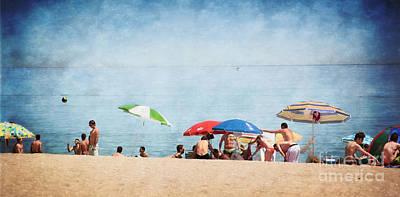 Sundays Digital Art - Summer By The Sea by Mary Machare