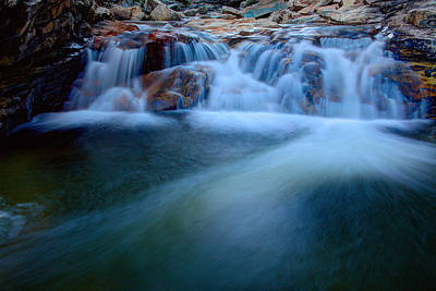 Waterfall Photograph - Summer Cascade by Chad Dutson