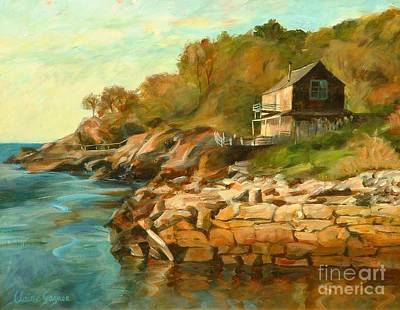 Painting - Summer Cottage by Claire Gagnon