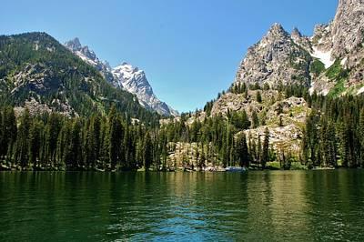 Photograph - Summer Day At Jenny Lake by Dany Lison