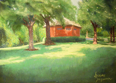 Art Print featuring the pastel Summer Day by Diane Ferguson