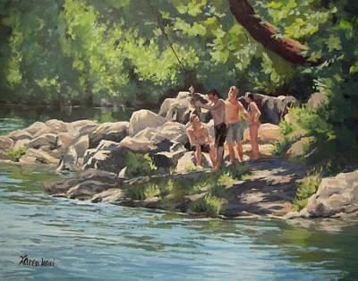 Painting - Summer Days by Karen Ilari