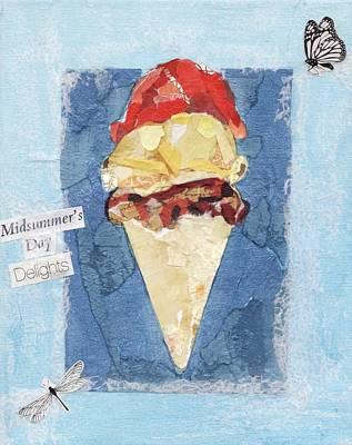 Summer Delight Original by Alison Lynch