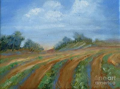 Painting - Summer Fields by Sally Simon
