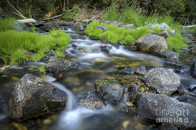 Photograph - Summer Flow by Idaho Scenic Images Linda Lantzy