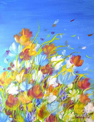Painting - Summer Flowers by Kathleen Pio