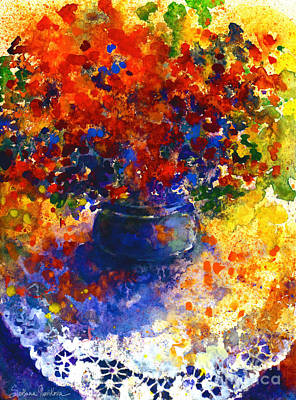 Summer Flowers Art Print by Svetlana Novikova