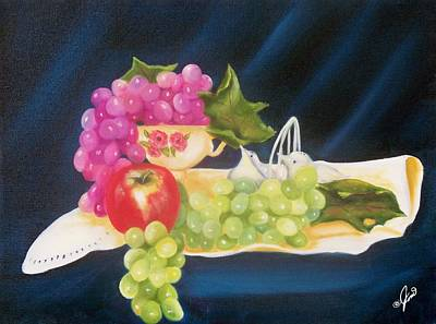 Painting - Summer Fruit by Joni McPherson