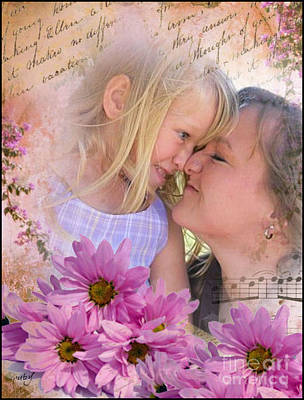 Digital Art - Summer Fun With Mom by Ruby Cross