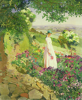 Summer Art Print by Harold Harvey