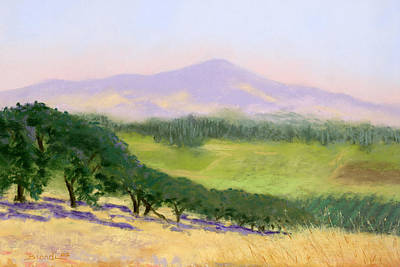 Pastel - Summer Haze by Janet Biondi
