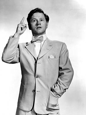1948 Movies Photograph - Summer Holiday, Mickey Rooney, 1948 by Everett