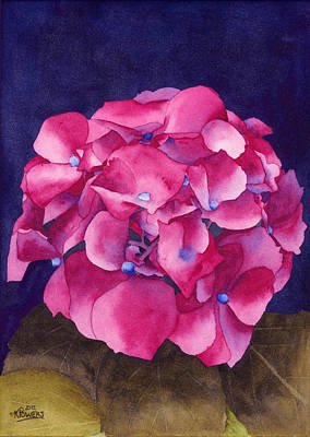 Painting - Summer Hydrangea by Ken Powers