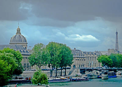 Photograph - Summer In Paris by Tony Grider