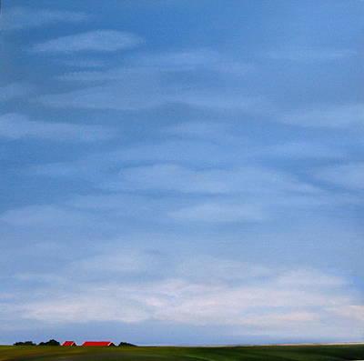 Summer In Zeeland Art Print