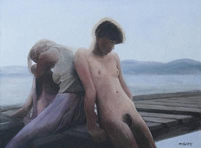 Painting - Summer Lake by Masami Iida