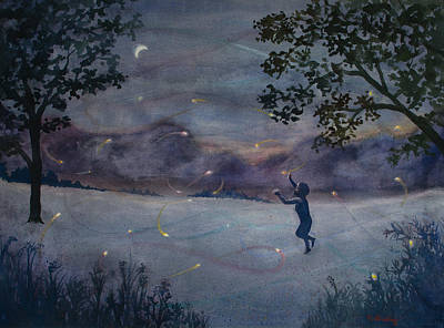 Summer Nights Passing Original by Ruth Bailey