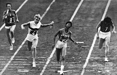 Footrace Photograph - Summer Olympics, 1960 by Granger