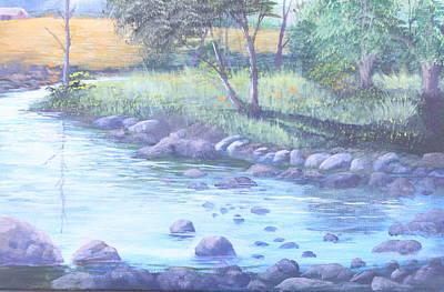 Summer River Art Print by Reggie Jaggers