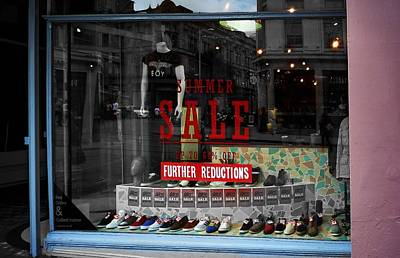 Shoes Photograph - Summer Sale by Charles Stuart