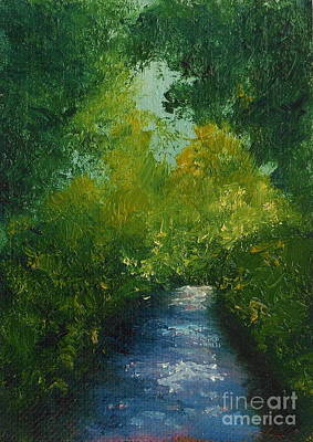 Painting - Summer Shadows by Fred Wilson