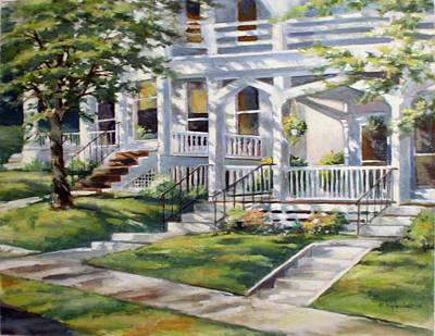 Painting - Summer Shadows by Kerry Kupferschmidt
