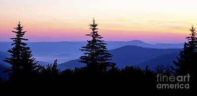 Summer Solstice Sunrise Highland Scenic Highway Art Print by Thomas R Fletcher