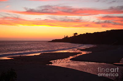 Photograph - Summer Sunset by Johanne Peale