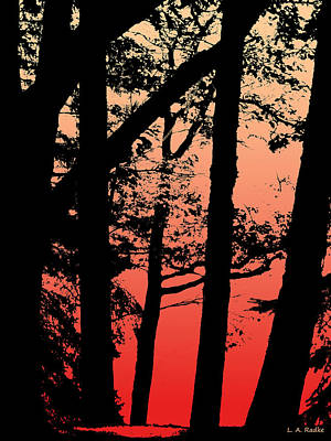 Art Print featuring the photograph Summer Sunset by Lauren Radke