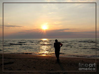 New York State Photograph - Summer Sunset Solitude by Rose Santuci-Sofranko