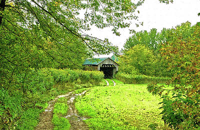 Photograph - Summer Time In Vermont by James Steele