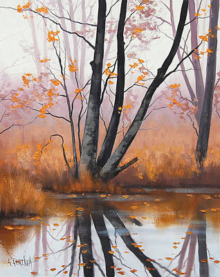 Impressionism Paintings - Summer Tones by Graham Gercken