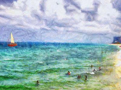 Painting - Summer Vacation II by Jai Johnson
