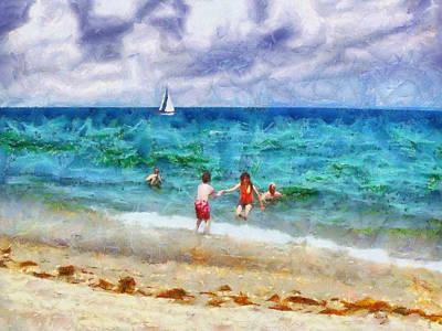 Painting - Summer Vacation by Jai Johnson