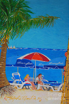 Painting - Summer Vacationers  by Art Mantia