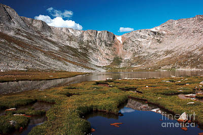 Photograph - Summit Lake On Mount Evans by David Bearden