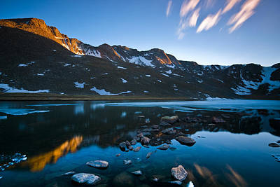 Photograph - Summit Lake by Ryan Heffron