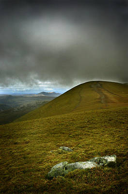 Photograph - Summit Of Ben Wyvis by Joe Macrae
